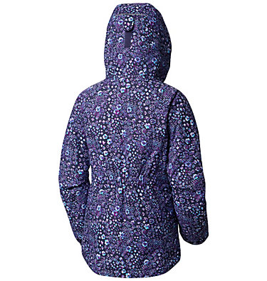 Manteau Flower Flakes™ pour fille Flower Flakes™Jacket | 623 | M, Nocturnal Floral Print, back