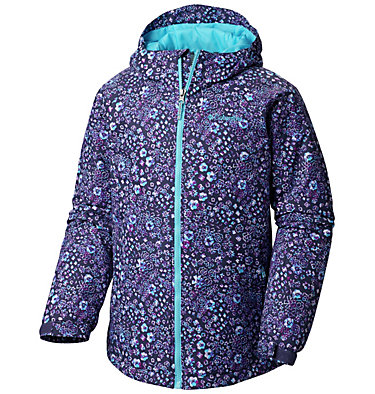 Manteau Flower Flakes™ pour fille Flower Flakes™Jacket | 623 | M, Nocturnal Floral Print, front