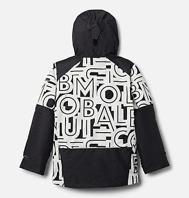 Boys' Whirlibird™ II Interchange Jacket Whirlibird™ II Interchange Jacket | 012 | XS, Black Typo Print, Black, back