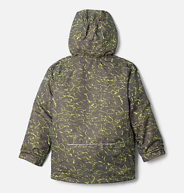 Boys' Whirlibird™ II Interchange Jacket Whirlibird™ II Interchange Jacket | 012 | XS, City Grey Crackle Print, City Grey, back