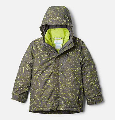 Boys' Whirlibird™ II Interchange Jacket Whirlibird™ II Interchange Jacket | 012 | XS, City Grey Crackle Print, City Grey, front