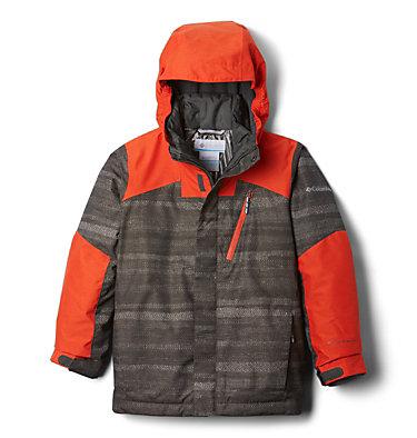 Boys' Whirlibird™ II Interchange Jacket Whirlibird™ II Interchange Jacket | 012 | XS, Grill Strokes, State Orange, back