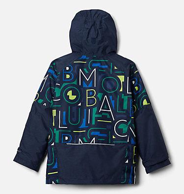 Boys' Whirlibird™ II Interchange Jacket Whirlibird™ II Interchange Jacket | 511 | L, Coll Navy Typo Multi Print, Coll Navy, back