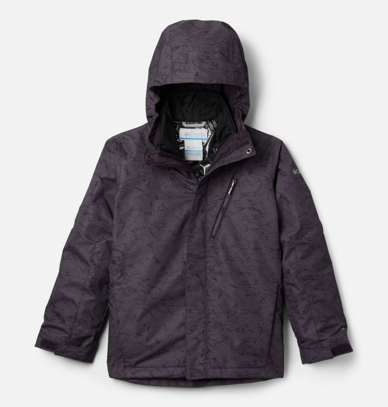 Whirlibird™ II Interchange Jacket | 511 | M Boys' Whirlibird™ II Interchange Jacket, Dark Purple Crackle Print, front