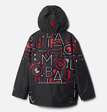 Boys' Whirlibird™ II Interchange Jacket Whirlibird™ II Interchange Jacket | 012 | XS, Mtn Red Typo Multi Print, Black, back