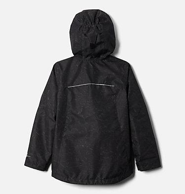 Girls' Whirlibird™ II Interchange Jacket Whirlibird™ II Interchange Jacket | 100 | S, Black Crackle Print, Black, back