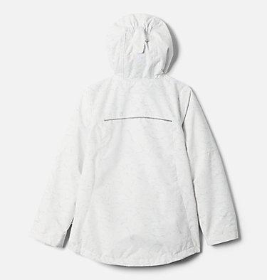 Girls' Whirlibird™ II Interchange Jacket Whirlibird™ II Interchange Jacket | 100 | S, White Crackle Print, Columbia Grey, back