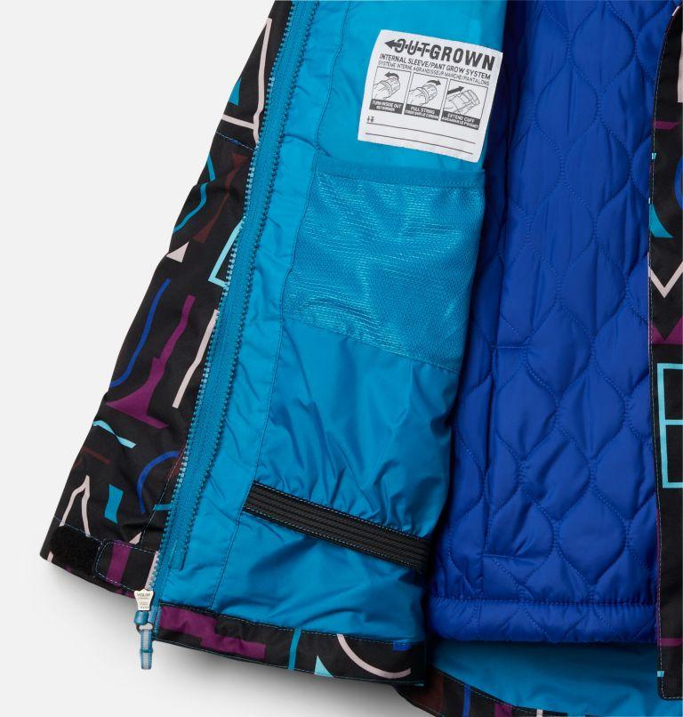 Whirlibird™ II Interchange Jacket | 462 | XL Girls' Whirlibird™ II Interchange Jacket, Fjord Blue Typo Multi (B) Print, Fjord B, a1