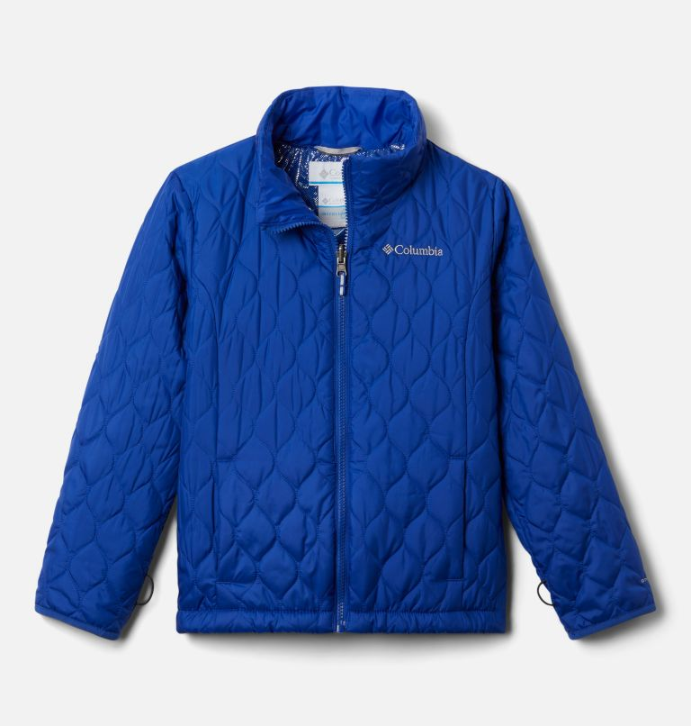 Whirlibird™ II Interchange Jacket | 462 | XL Girls' Whirlibird™ II Interchange Jacket, Fjord Blue Typo Multi (B) Print, Fjord B, a2