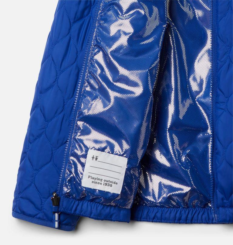 Whirlibird™ II Interchange Jacket | 462 | XL Girls' Whirlibird™ II Interchange Jacket, Fjord Blue Typo Multi (B) Print, Fjord B, a4