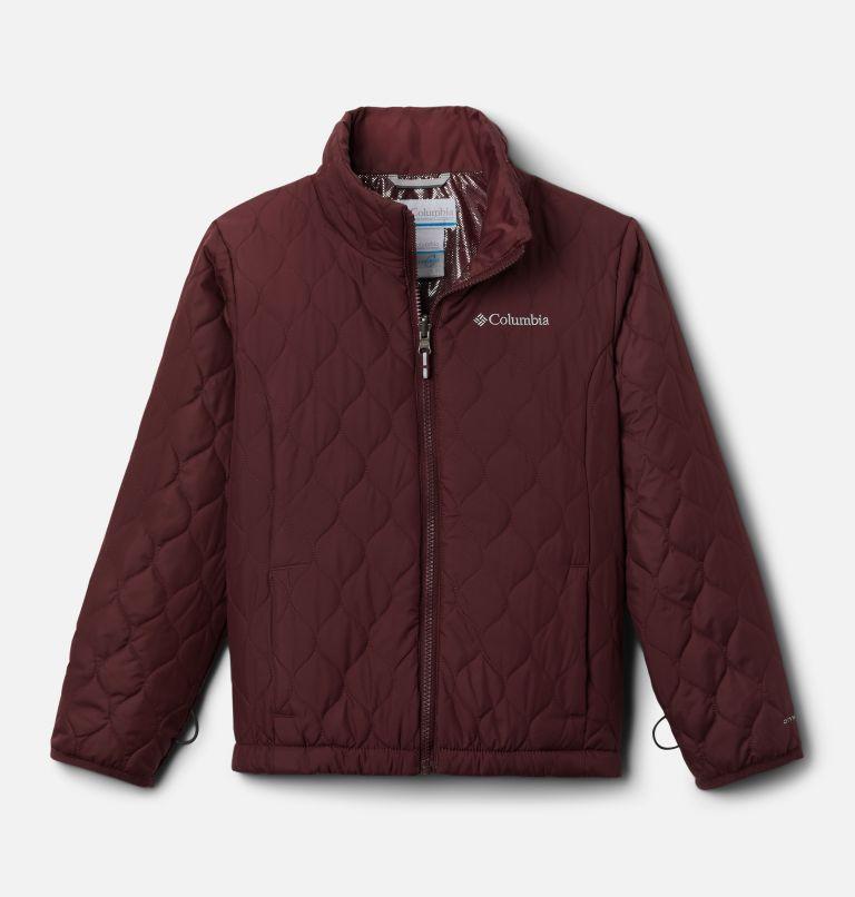 Whirlibird™ II Interchange Jacket | 618 | L Girls' Whirlibird™ II Interchange Jacket, Mineral Pink Crackle Print, Mineral Pink, a2