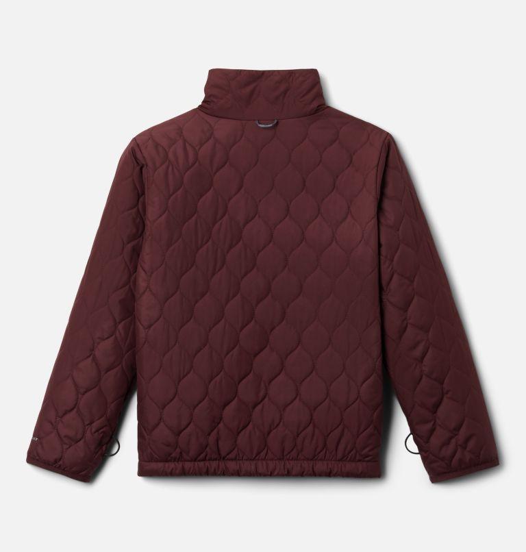 Whirlibird™ II Interchange Jacket | 618 | L Girls' Whirlibird™ II Interchange Jacket, Mineral Pink Crackle Print, Mineral Pink, a3