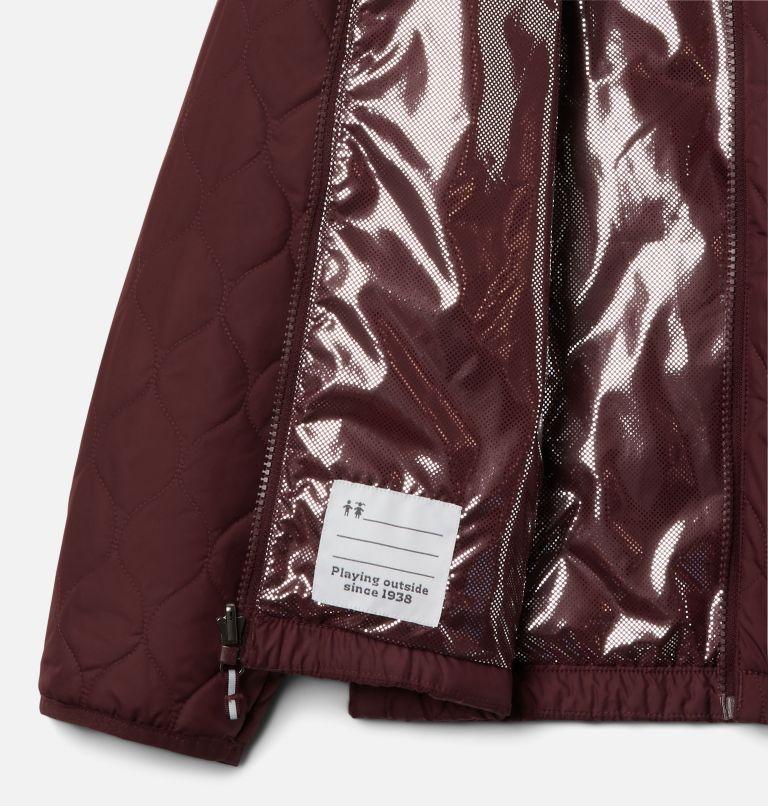 Whirlibird™ II Interchange Jacket | 618 | L Girls' Whirlibird™ II Interchange Jacket, Mineral Pink Crackle Print, Mineral Pink, a4