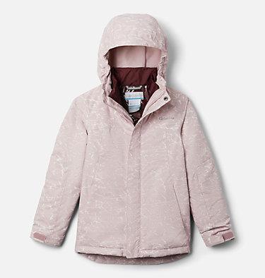 Girls' Whirlibird™ II Interchange Jacket Whirlibird™ II Interchange Jacket | 100 | S, Mineral Pink Crackle Print, Mineral Pink, front