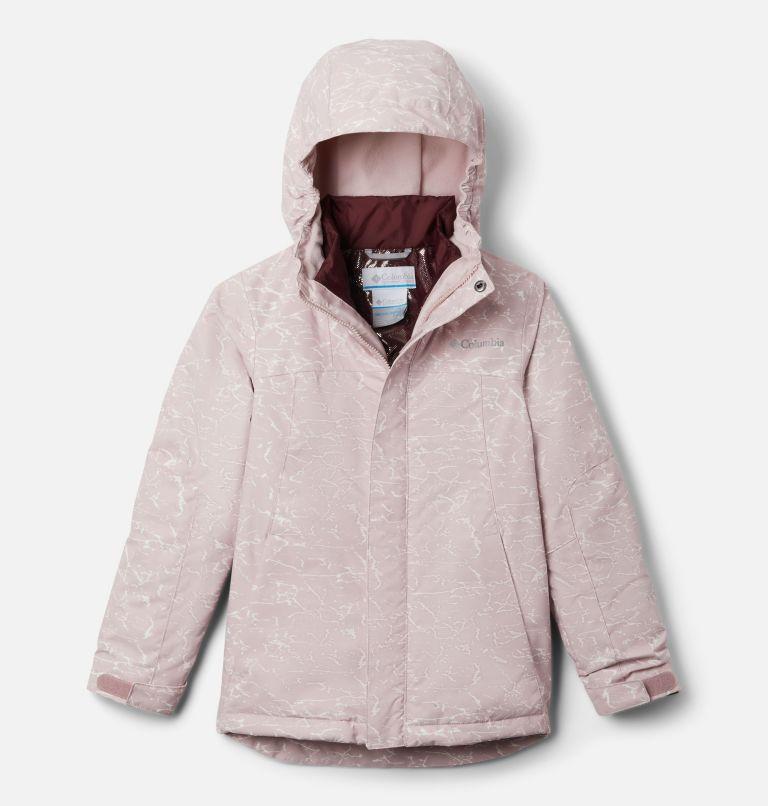 Whirlibird™ II Interchange Jacket | 618 | L Girls' Whirlibird™ II Interchange Jacket, Mineral Pink Crackle Print, Mineral Pink, front