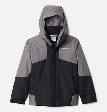 Boys' Bugaboo™ II Fleece Interchange Jacket Bugaboo™ II Fleece Interchange Jacket | 432 | XS, Black, City Grey, front