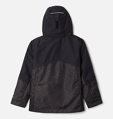 Manteau Interchange en laine polaire Bugaboo II pour garçon Bugaboo™ II Fleece Interchange Jacket | 015 | S, Black Chevron Print, Black, back