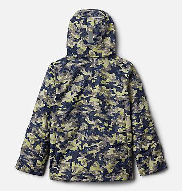 Boys' Bugaboo™ II Fleece Interchange Jacket Bugaboo™ II Fleece Interchange Jacket | 432 | XS, Bright Chartreuse Camo Print, back