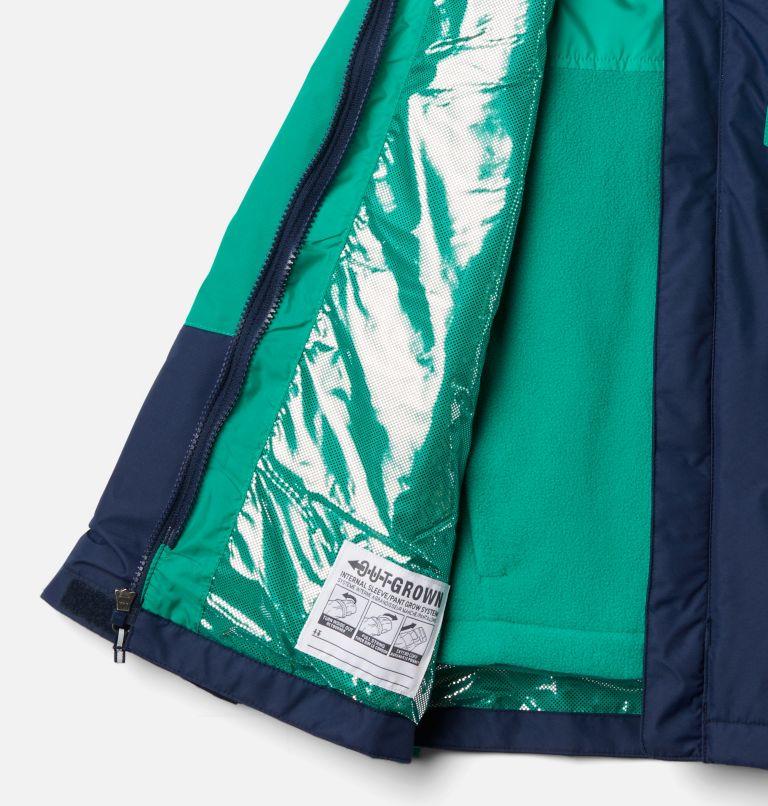 Bugaboo™ II Fleece Interchange Jacket   464   L Boys' Bugaboo™ II Fleece Interchange Jacket, Collegiate Navy, Emerald Green, a1