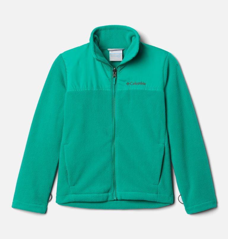 Bugaboo™ II Fleece Interchange Jacket   464   L Boys' Bugaboo™ II Fleece Interchange Jacket, Collegiate Navy, Emerald Green, a2