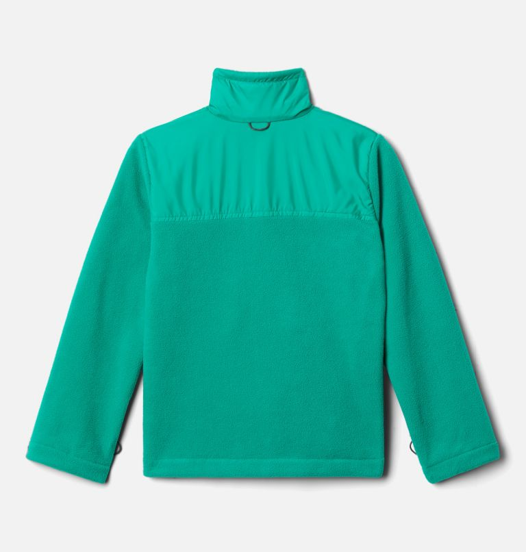 Bugaboo™ II Fleece Interchange Jacket   464   L Boys' Bugaboo™ II Fleece Interchange Jacket, Collegiate Navy, Emerald Green, a3