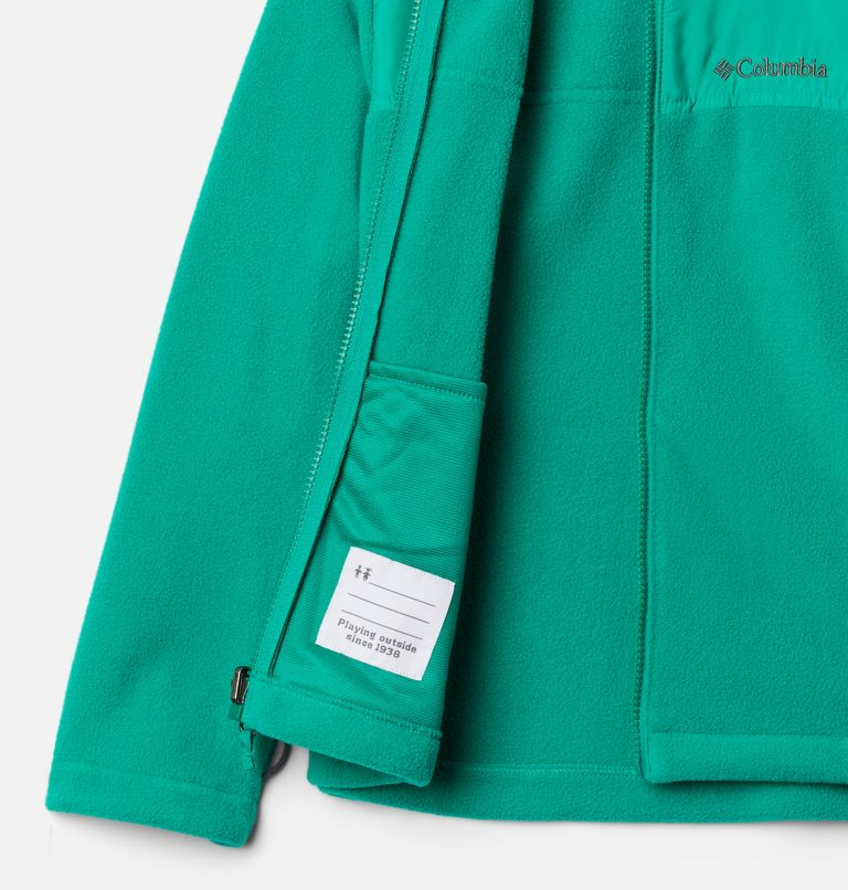 Bugaboo™ II Fleece Interchange Jacket   464   L Boys' Bugaboo™ II Fleece Interchange Jacket, Collegiate Navy, Emerald Green, a4