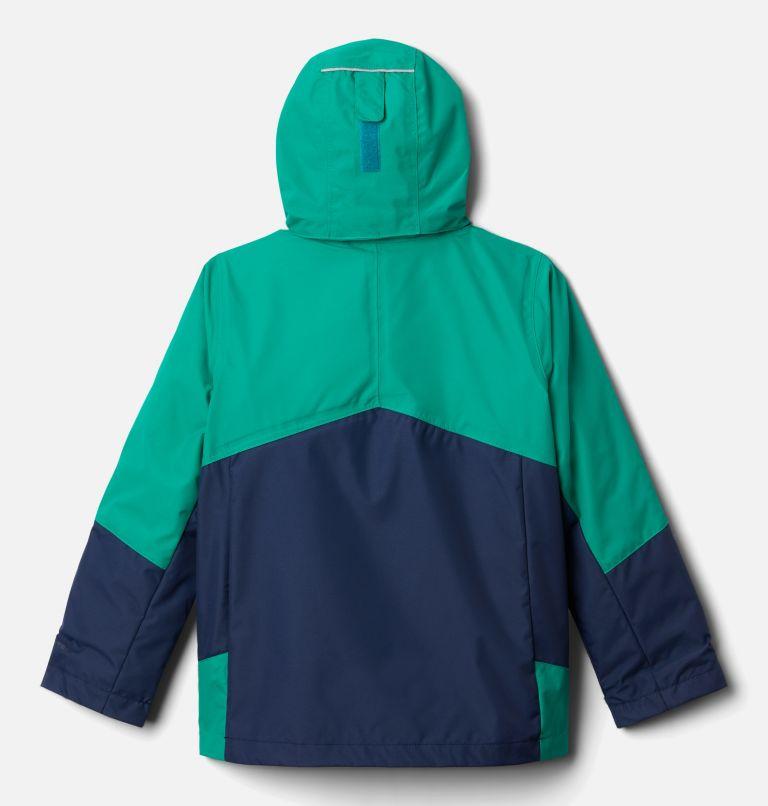Bugaboo™ II Fleece Interchange Jacket   464   L Boys' Bugaboo™ II Fleece Interchange Jacket, Collegiate Navy, Emerald Green, back