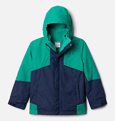 Boys' Bugaboo™ II Fleece Interchange Jacket Bugaboo™ II Fleece Interchange Jacket | 432 | XS, Collegiate Navy, Emerald Green, front