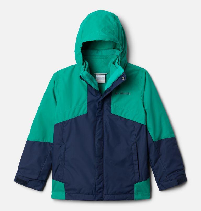 Bugaboo™ II Fleece Interchange Jacket   464   L Boys' Bugaboo™ II Fleece Interchange Jacket, Collegiate Navy, Emerald Green, front