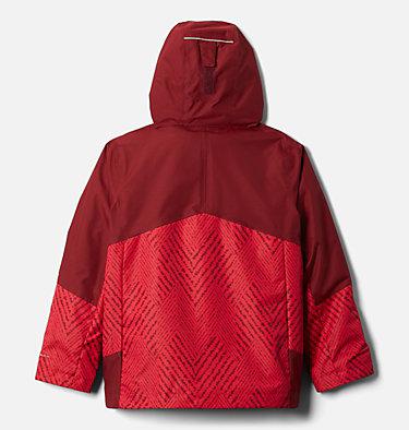 Boys' Bugaboo™ II Fleece Interchange Jacket Bugaboo™ II Fleece Interchange Jacket   615   XXS, Mtn Red Chevron Print, Red Jasper, back