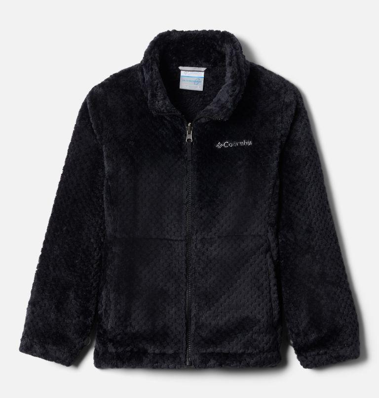 Bugaboo™ II Fleece Interchange Jacket | 012 | XXS Girls' Bugaboo™ II Fleece Interchange Jacket, Black Chevron Print, a1