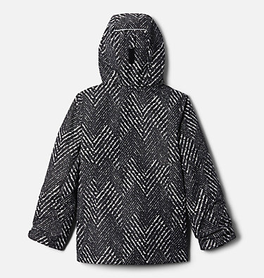 Manteau Interchange en laine polaire Bugaboo II pour fille Bugaboo™ II Fleece Interchange Jacket | 575 | XS, Black Chevron Print, back