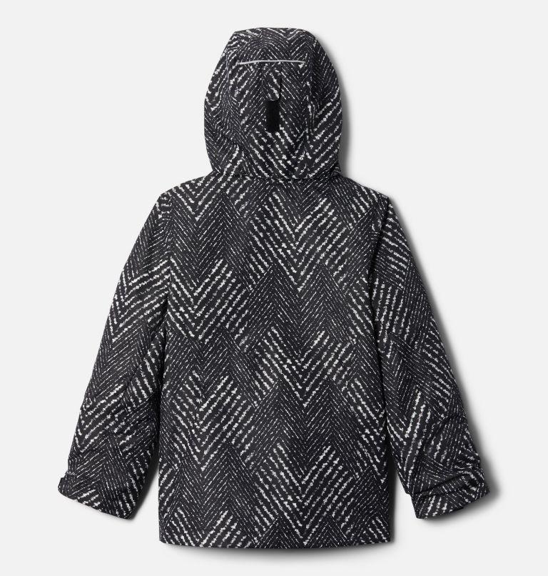 Bugaboo™ II Fleece Interchange Jacket | 012 | XXS Girls' Bugaboo™ II Fleece Interchange Jacket, Black Chevron Print, back