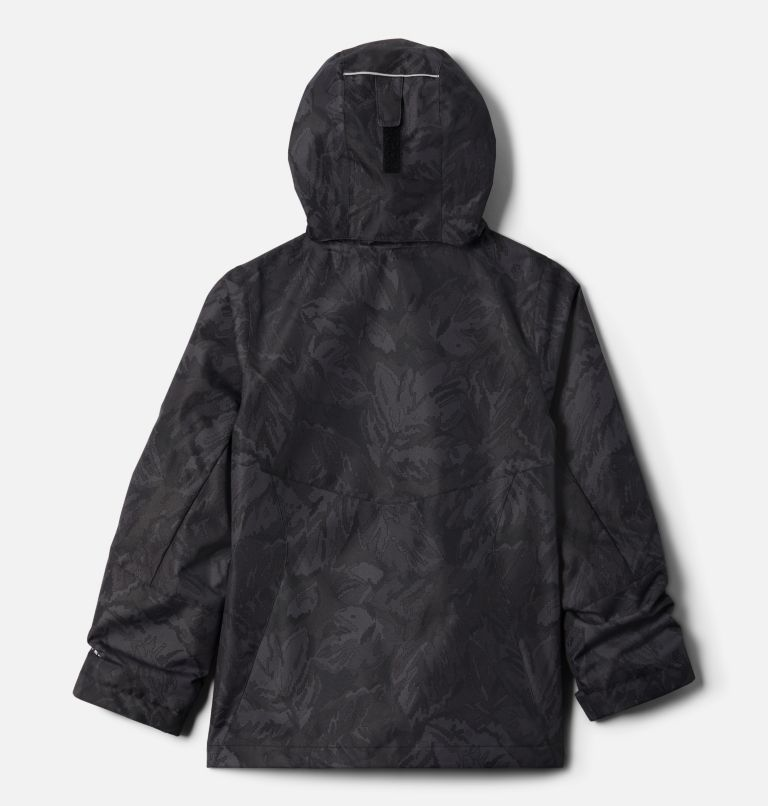 Bugaboo™ II Fleece Interchange Jacket | 013 | XS Girls' Bugaboo™ II Fleece Interchange Jacket, Black Leafscape Print, back