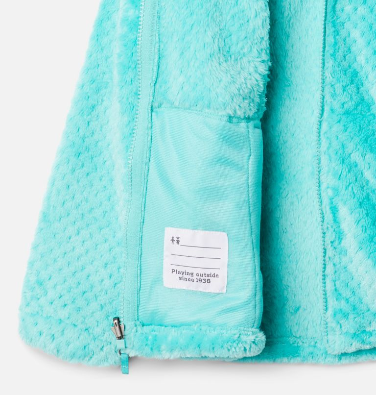 Bugaboo™ II Fleece Interchange Jacket | 356 | XS Girls' Bugaboo™ II Fleece Interchange Jacket, Dolphin Chevron Print, a1
