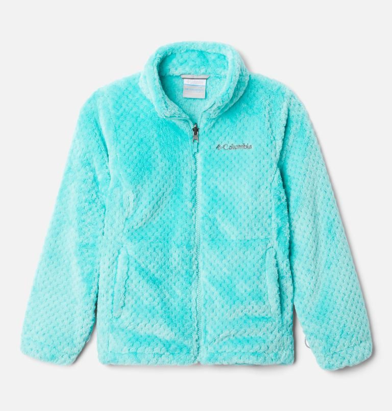 Bugaboo™ II Fleece Interchange Jacket | 356 | XS Girls' Bugaboo™ II Fleece Interchange Jacket, Dolphin Chevron Print, a2