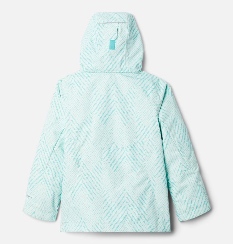 Bugaboo™ II Fleece Interchange Jacket | 356 | XS Girls' Bugaboo™ II Fleece Interchange Jacket, Dolphin Chevron Print, back