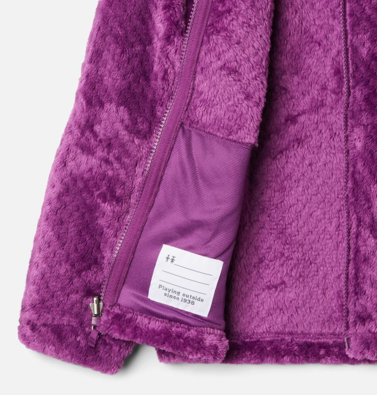 Bugaboo™ II Fleece Interchange Jacket | 575 | XS Girls' Bugaboo™ II Fleece Interchange Jacket, Plum Chevron Print, a1