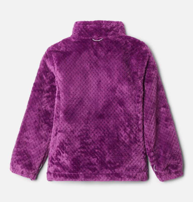 Bugaboo™ II Fleece Interchange Jacket | 575 | XS Girls' Bugaboo™ II Fleece Interchange Jacket, Plum Chevron Print, a3