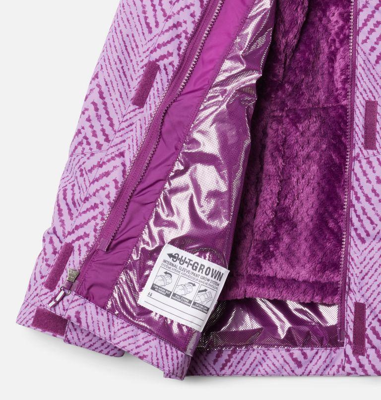 Bugaboo™ II Fleece Interchange Jacket | 575 | XS Girls' Bugaboo™ II Fleece Interchange Jacket, Plum Chevron Print, a4