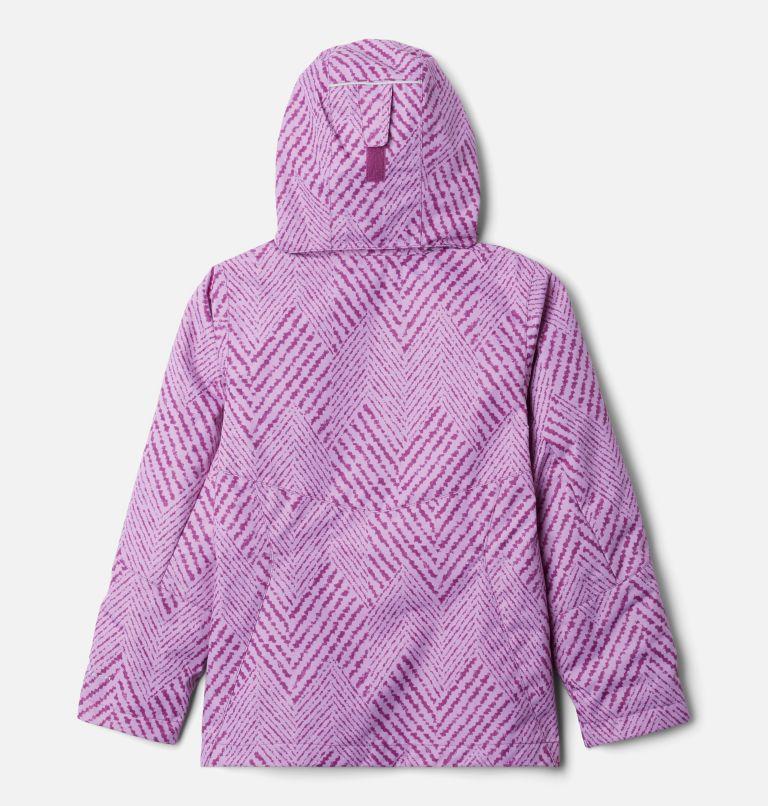 Bugaboo™ II Fleece Interchange Jacket | 575 | XS Girls' Bugaboo™ II Fleece Interchange Jacket, Plum Chevron Print, back