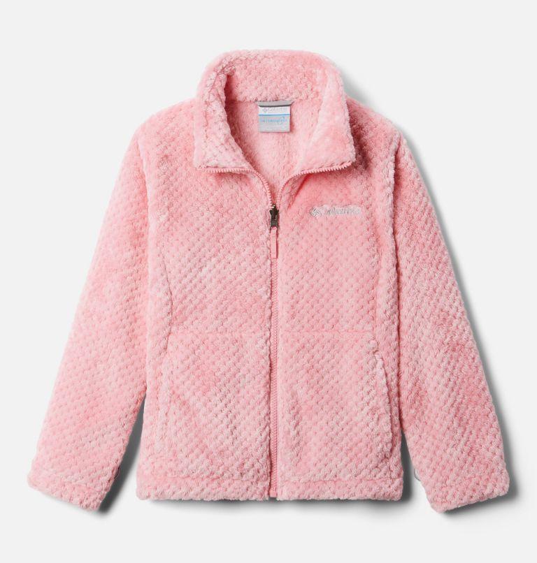 Bugaboo™ II Fleece Interchange Jacket   689   XS Girls' Bugaboo™ II Fleece Interchange Jacket, Pink Orchid Chevron Print, a2