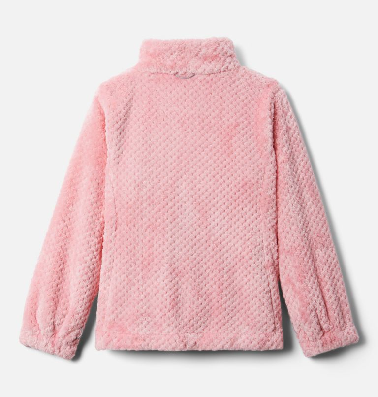 Bugaboo™ II Fleece Interchange Jacket | 689 | XL Girls' Bugaboo™ II Fleece Interchange Jacket, Pink Orchid Chevron Print, a3