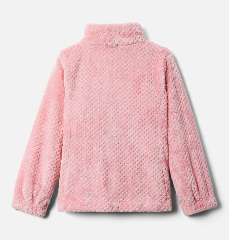 Bugaboo™ II Fleece Interchange Jacket   689   XS Girls' Bugaboo™ II Fleece Interchange Jacket, Pink Orchid Chevron Print, a3