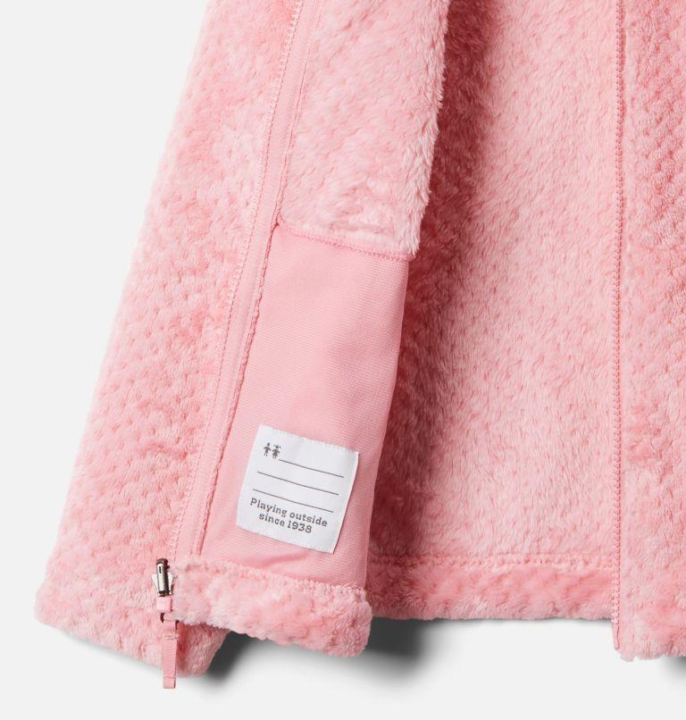 Bugaboo™ II Fleece Interchange Jacket   689   XS Girls' Bugaboo™ II Fleece Interchange Jacket, Pink Orchid Chevron Print, a4