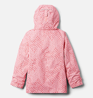 Manteau Interchange en laine polaire Bugaboo II pour fille Bugaboo™ II Fleece Interchange Jacket | 575 | XS, Pink Orchid Chevron Print, back