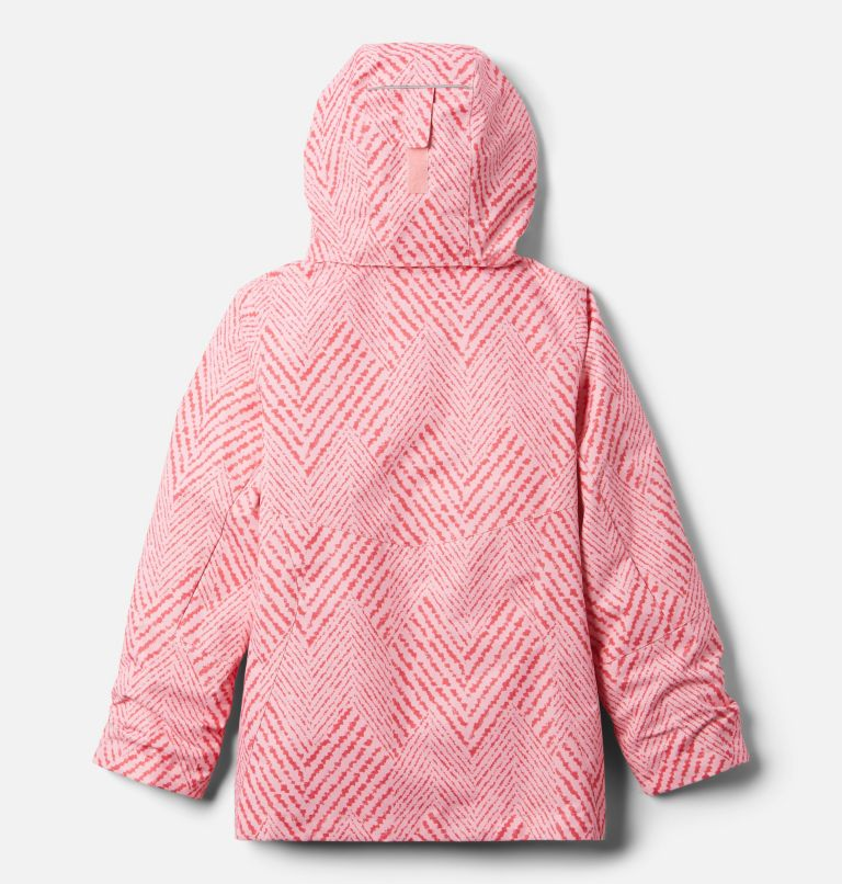 Bugaboo™ II Fleece Interchange Jacket   689   XS Girls' Bugaboo™ II Fleece Interchange Jacket, Pink Orchid Chevron Print, back
