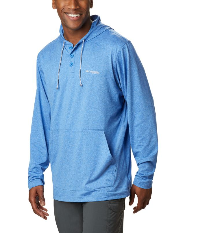 Slack Tide™ Henley Hoodie Slack Tide™ Henley Hoodie, front