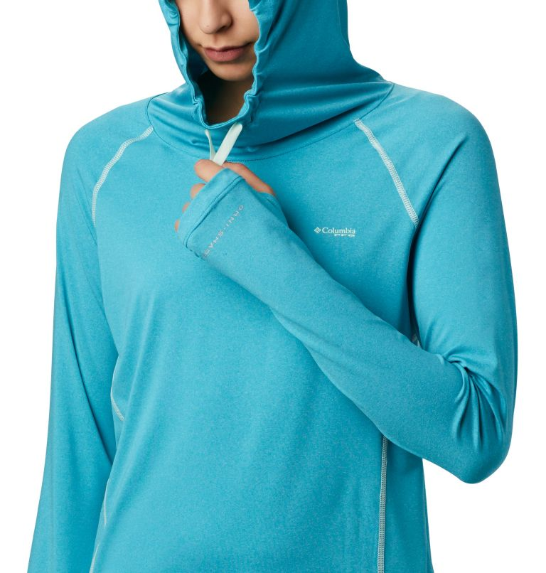 Women's PFG Tamiami™ Heather Knit Hoodie Women's PFG Tamiami™ Heather Knit Hoodie, a1