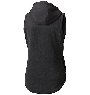 Women's Benton Springs™ Overlay Vest Benton Springs™ Overlay Vest | 613 | L, Charcoal Heather, Shark, back
